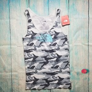 The North Face  camo tank top size M NWT